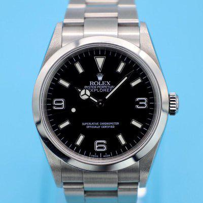 FS: 2000 Rolex Explorer I Ref. 114270   Unpolsihed  Box and Booklets
