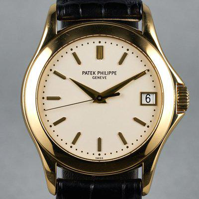 FS: 2000's Patek Philippe YG Calatrava Ref: 5107J Automatic with Box and Papers
