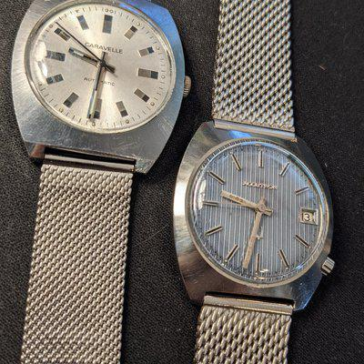 [WTS] Vintage Caravelle Automatic and Bulova 218 Accutron