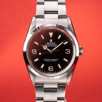 FS: 1991 Rolex Explorer 14270 with Papers