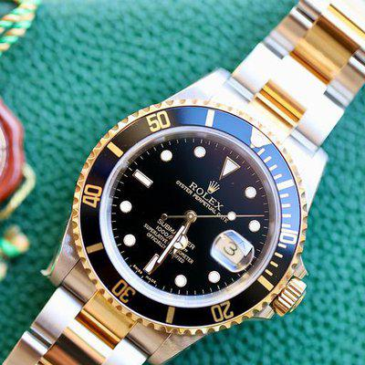 FS: NIB Rolex Submariner 16613 Black.