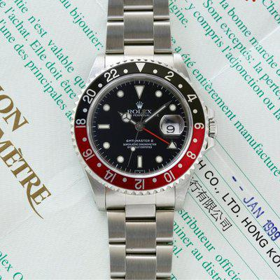 """Rolex GMT-MASTER II 