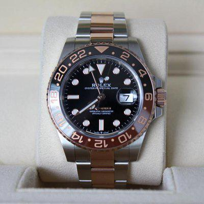 FSOT: Excellent Rolex 126711CHNR GMT Master II Rootbeer - Full Set, New Style Card!