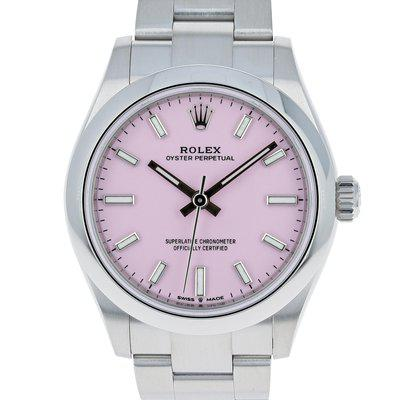 FS: Rolex Oyster Perpetual 277200 NEW July 2021 Candy Pink Steel 31 mm