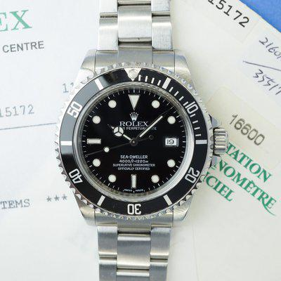 [WTS] Rolex Sea-Dweller Ref. 16600 with Papers and 2021 Service (A-Serial)