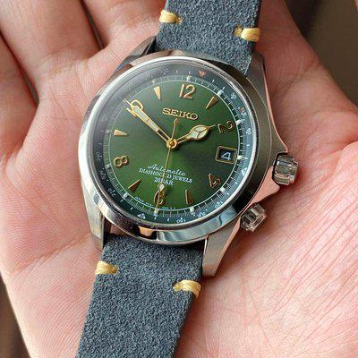 [WTS] SEIKO Sarb017 Alpinist Great Con in Suede Straps