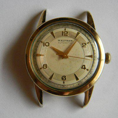 SOLD - WALTHAM Automatic 17 Jewels Gold Filled Case circa 1950s