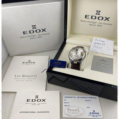 Edox Les Bémonts 5 Minutes Repeater Automatic
