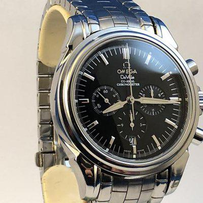FS: Omega Deville Co-Axial Chonograph. Steel, Armadillo Bracelet, Boxes and Papers. Price Reduction