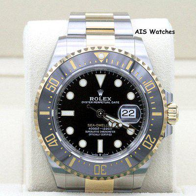 FSOT - Rolex 126603 SEA-DWELLER 43MM 18K Yellow Gold / Stainless Steel Box & Papers