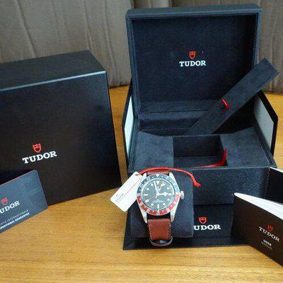 2021 Tudor BB GMT Pepsi (Red/Blue) 79830RB - Leather