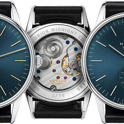 FS Only: Nomos Orion Timeless Midnight Edition