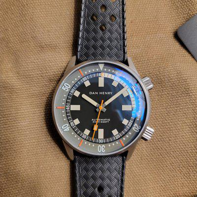 Dan Henry 1970 40mm Worn And Wound Limited to 150 - SOLD