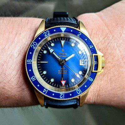 [WTS] Limited Edition Yema Superman GMT Bronze Blue 39mm Sold-Out model