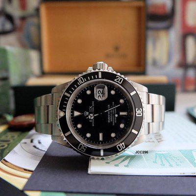 FS:  1998 Rolex Submariner 16610 U Serial Swiss Dial Unpolished Collector Full Set