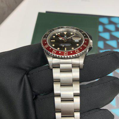 Highly collectible: GMT master II 1988 with killer lumes!! Only $12,999 Quick sell!