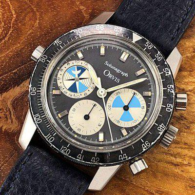 FS: 1970s Orvis (by Heuer) Solunagraph 2446SF Second Execution