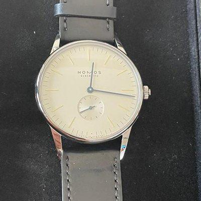 FS Nomos Orion 38 Manual Wind Excellent Condition REDUCED