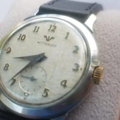 [WTS] WITTNAUER Longines from early 60s on Mancave Leather