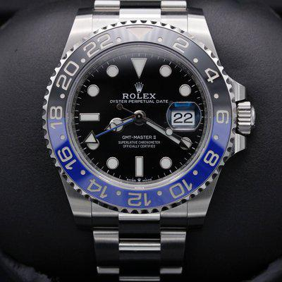 FSOT: Rolex GMT Master II - 126710 - Stainless Steel - Oyster - 40mm - New