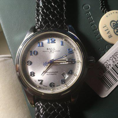FS: BALL TRAINMASTER CLEVELAND EXPRESS DAY/DATE AUTOMATIC WATCH - NM1058D