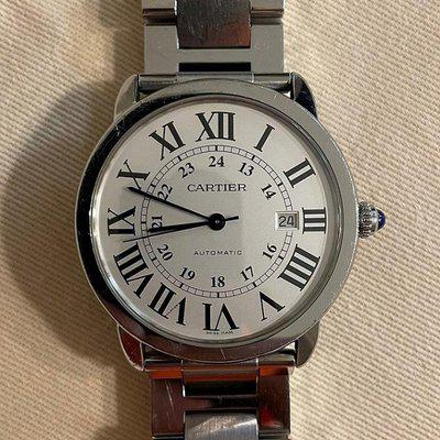 FS: Cartier Ronde Solo XL 3517, 42mm, White Dial - Very Good Condition