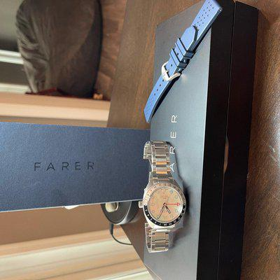 SOLD: Farer Maze GMT Plus Extras ($1100)