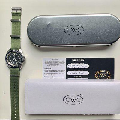 FS: CWC RN Diver MK 1 with Sapphire Crystal and New Top Grade 2824-2 Movement