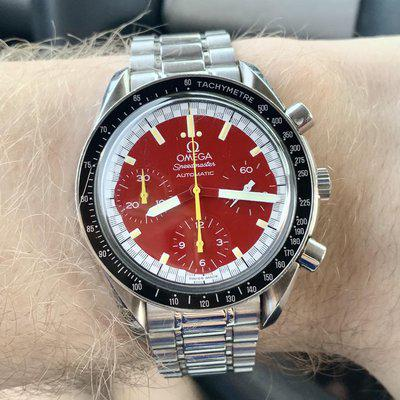 [WTS] Red Omega Speedmaster Michael Schumacher, Reference: 3510.61.00