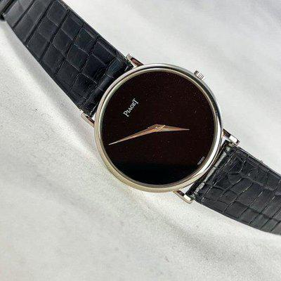 Piaget 9025 with 9P movement dress watch – white gold, hand-wound and recently serviced