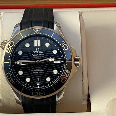 FSOT: Omega Seamaster Co‑Axial Master Chronometer 42 mm, Ceramic, Steel & Sedna™ Gold