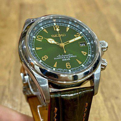 [WTS] SEIKO Sarb017 Alpinist Great Condition with beautiful brown straps