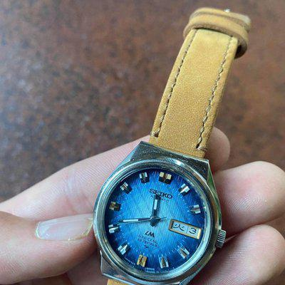 [WTS] Rare Seiko Lordmatic with Blue gradation and Gold/Silver Indices