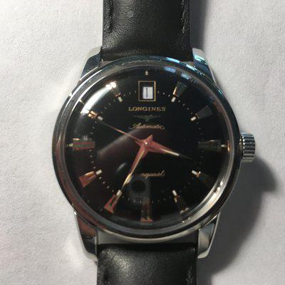 FS: Longines Conquest Heritage Black Dial 35mm Automatic $599