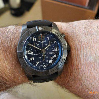Breitling Chronospace EVO Night Mission, SuperQuartz, 43mm,  SUPER MINT