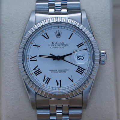 FSOT: Rolex Datejust 16030 White Buckly Dial