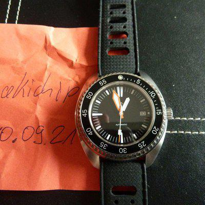 Certina DS 3 1000 limited Edition, MK2 Mod