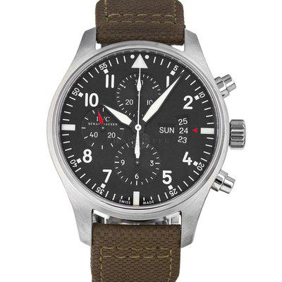 IWC 3777 Pilot Chronograph IW3777 Box Papers
