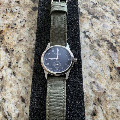 Weiss Watch 38 MM standard issue field watch Made In America