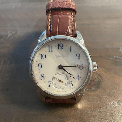 """[WTS] RPaige Wrocket Waltham RP242 """"One of One"""" with 1908 movement"""