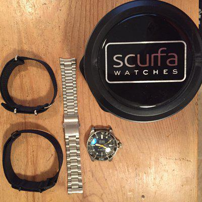 FS - First Issue Scurfa Diver One!