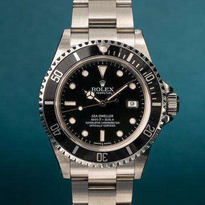 FS: 1999 Rolex Sea-Dweller 16600 with Papers