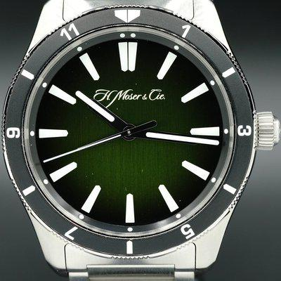 FS - Moser & Cie Pioneer Centre Seconds Rotating Bezel C.02 for Collective Horology