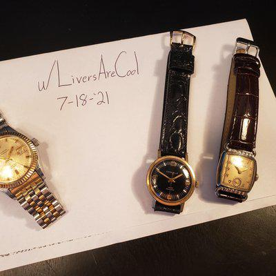 [WTS] REDUCED: Trio of Serviced Watches - Bulova Oceanographer ($400) Bulova Director ($90) & Caravelle ($75)
