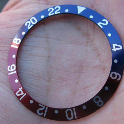 FS: Rolex GMT 1675/16750 fat fonts Pepsi insert
