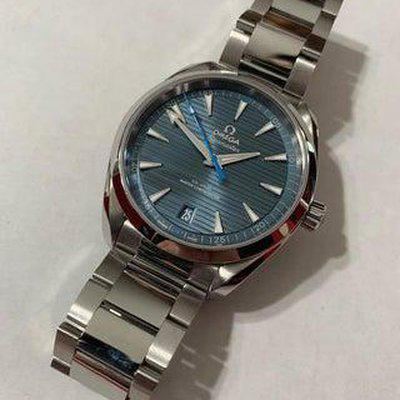 [WTS] Omega Aqua Terra 150M 41mm Watch with OEM Stainless Strap & Rubber Strap!