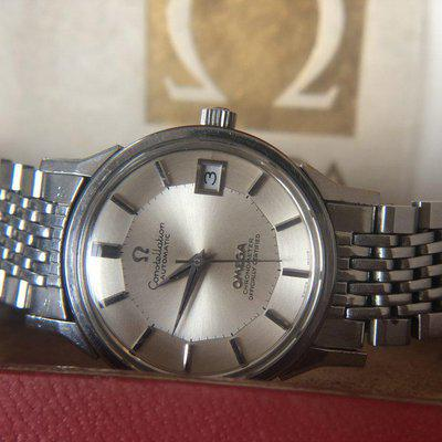 """FS - Omega Constellation Ref. 168.0065 aka """"The Last Pie-Pan"""" Box & papers - Euro 1650"""