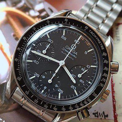 FSOT: Omega Speedmaster Reduced (3510.50) Watch - 39mm, Automatic, Stainless Steel Bracelet - $2,475