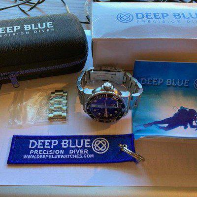 Deep Blue Master 1000 Automatic - Bang for the Buck Champion! - $150
