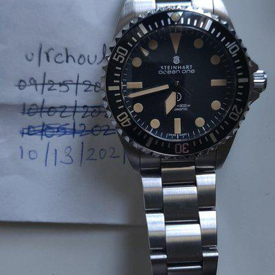 [WTS] Steinhart Ocean Vintage Military 39 with Box, Cards, Tags & All links